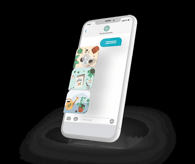 Phone with MMS deals from a Garden Center