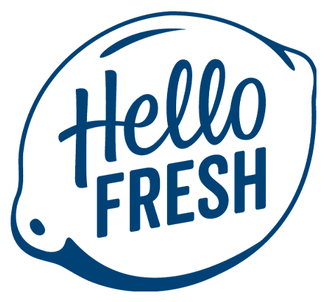 Hello Fresh logo - blue