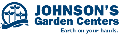 Johnson's Garden Center logo - blue