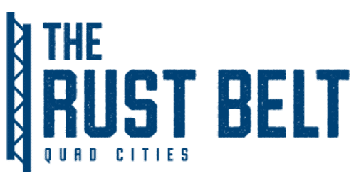 The Rust Belt Logo - blue