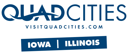 Visit Quadcities logo - blue
